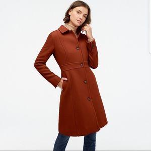NWT Jcrew Lady Day Coat P0